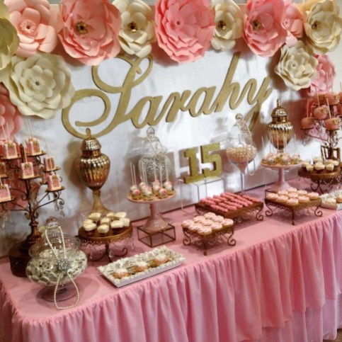 Wonderful Party Table Decorations Ideas 41