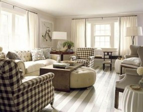Awesome French Farmhouse Living Room Design Ideas 13