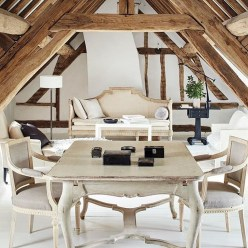 Awesome French Farmhouse Living Room Design Ideas 27