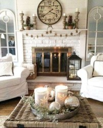 Awesome French Farmhouse Living Room Design Ideas 36