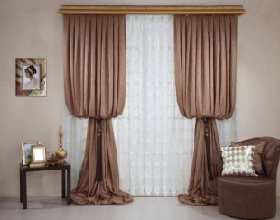 Cheap Farmhouse Curtains For Living Room Decorating Ideas 01