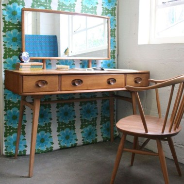 Cozy Mid Century Dressing Tables Vanities Ideas 04