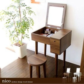 Cozy Mid Century Dressing Tables Vanities Ideas 35