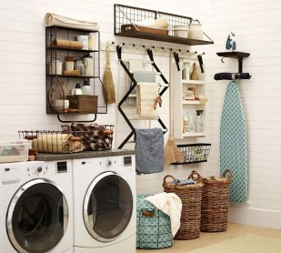 Impressive Bohemian Laundry Room Ideas To Inspire You 14
