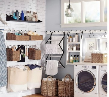 Impressive Bohemian Laundry Room Ideas To Inspire You 27