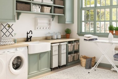 Impressive Bohemian Laundry Room Ideas To Inspire You 34