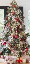 Lovely Traditional Christmas Decorations Ideas 11