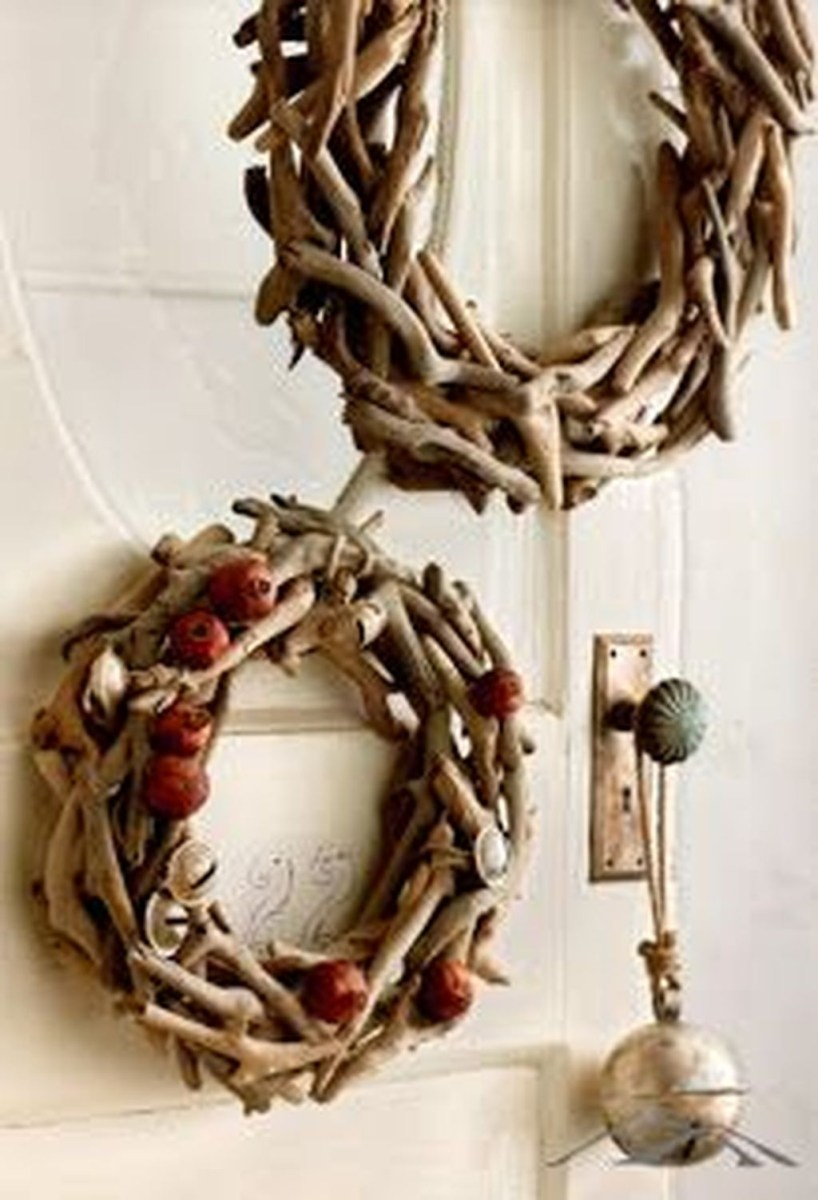 Magnificient Rustic Christmas Decorations And Wreaths Ideas 31
