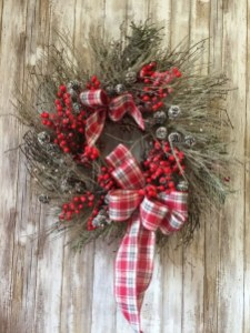Magnificient Rustic Christmas Decorations And Wreaths Ideas 48