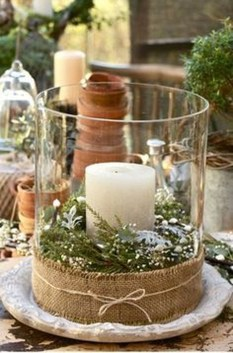 Modern Rustic Christmas Table Settings Ideas 02