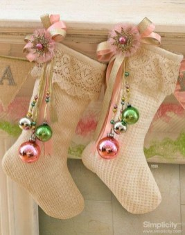 Perfect Christmas Stocking Decoration Ideas 19