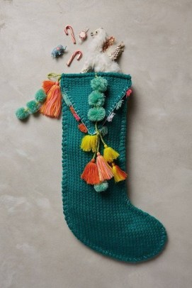 Perfect Christmas Stocking Decoration Ideas 26