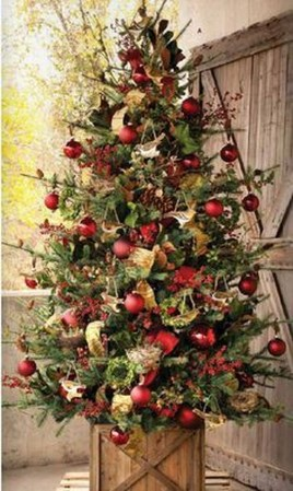 Stylish Decorated Christmas Trees 2018 Ideas 35
