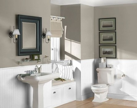 Wonderful Color Combination For Your Bathroom Design Ideas 03