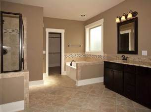 Wonderful Color Combination For Your Bathroom Design Ideas 06