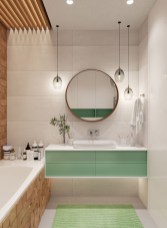 Wonderful Color Combination For Your Bathroom Design Ideas 07