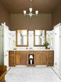 Wonderful Color Combination For Your Bathroom Design Ideas 20