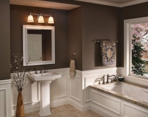 Wonderful Color Combination For Your Bathroom Design Ideas 39