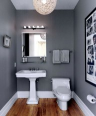 Wonderful Color Combination For Your Bathroom Design Ideas 42