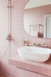 Wonderful Color Combination For Your Bathroom Design Ideas 48