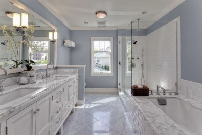 Wonderful Color Combination For Your Bathroom Design Ideas 49
