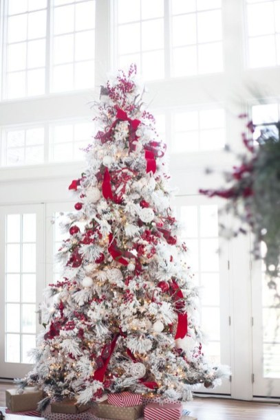 Wonderful Red Christmas Decoration Ideas 04