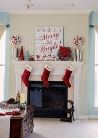 Wonderful Red Christmas Decoration Ideas 17