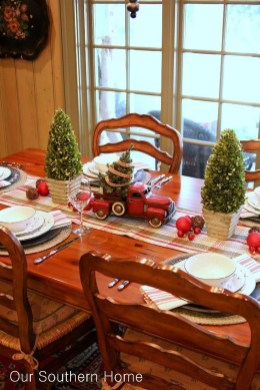 Wonderful Red Christmas Decoration Ideas 40