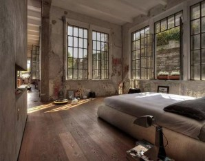 Attractive Industrial Bedroom Design Ideas 22