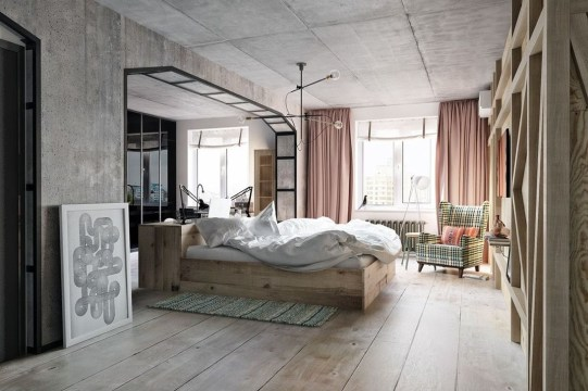 Attractive Industrial Bedroom Design Ideas 39