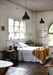Attractive Industrial Bedroom Design Ideas 45