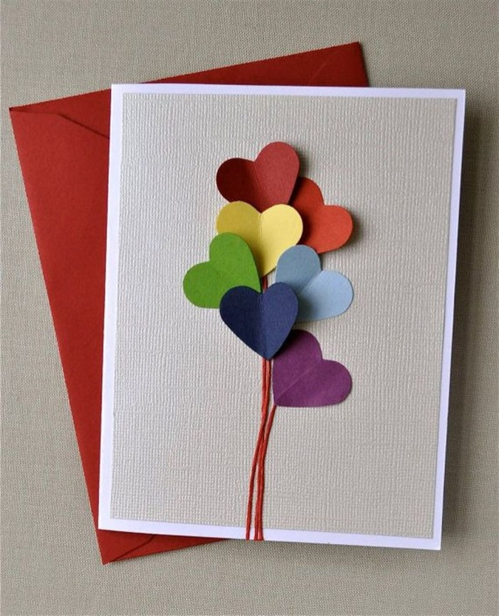 Awesome Diy Cards Design Ideas For Valentine Day 51