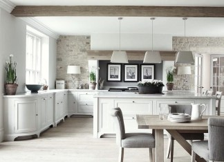 Delightful French Country Kitchen Design Ideas 17