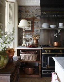 Delightful French Country Kitchen Design Ideas 45