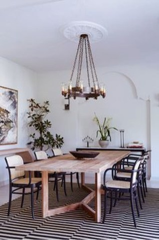 Fantastic Farmhouse Dining Room Design Ideas 15