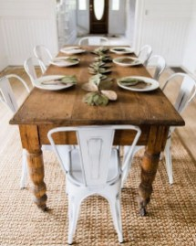 Fantastic Farmhouse Dining Room Design Ideas 27