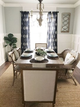 Fantastic Farmhouse Dining Room Design Ideas 34