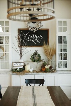 Fantastic Farmhouse Dining Room Design Ideas 35