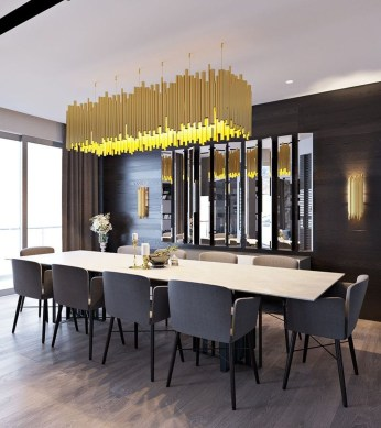 Fascinating Chandelier Lamp Design Ideas For Your Dining Room 08