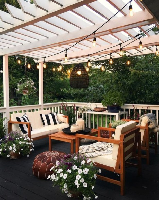 Fresh Backyard Patio Design Ideas 25