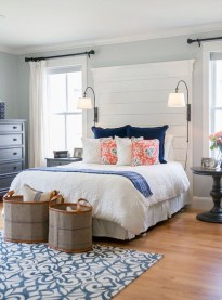 Stylish Farmhouse Bedroom Decor Ideas 10