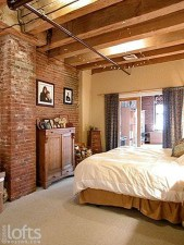 Wonderful Ezposed Brick Walls Bedroom Design Ideas 45