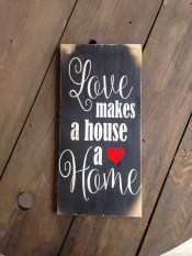 Wonderful Love Wood Sign Ideas For 2019 04