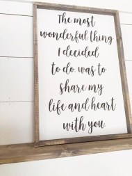 Wonderful Love Wood Sign Ideas For 2019 36