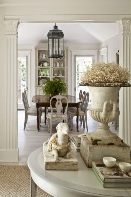 Amazing French Country Dining Room Table Decor Ideas 42
