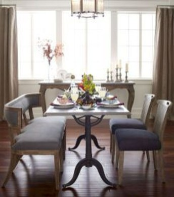 Amazing French Country Dining Room Table Decor Ideas 44