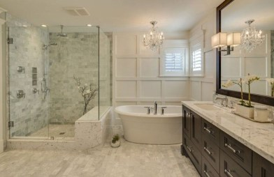 Awesome Master Bathroom Remodel Ideas On A Budget 46