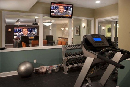 Cheap Home Gym Decorating Ideas For Small Space 05