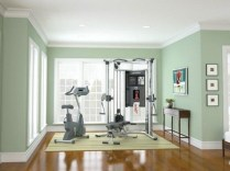Cheap Home Gym Decorating Ideas For Small Space 16