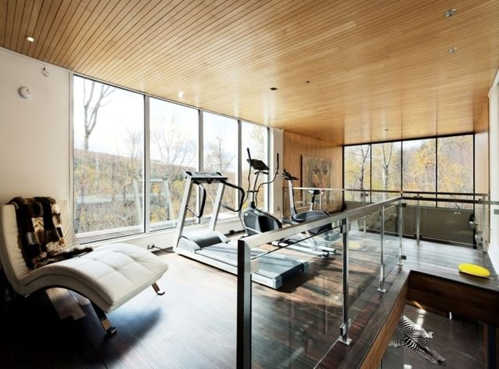 Cheap Home Gym Decorating Ideas For Small Space 28